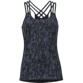 Marmot Vogue Mouwloos Shirt Dames grijs/zwart